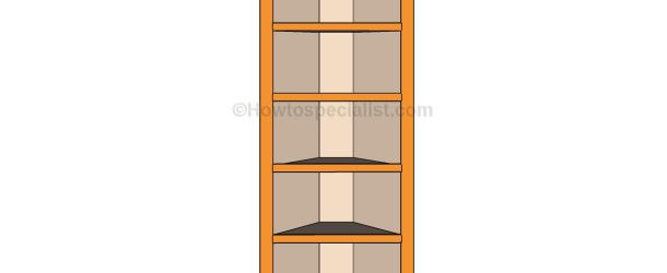 How to build corner shelves | HowToSpecialist - How to Build, Step by Step DIY Plans