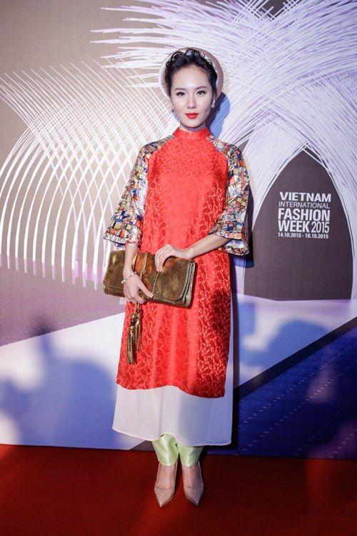 Những mẫu áo dài cách tân làm say lòng mỹ nhân Việt, áo dài, cách tân, thời…