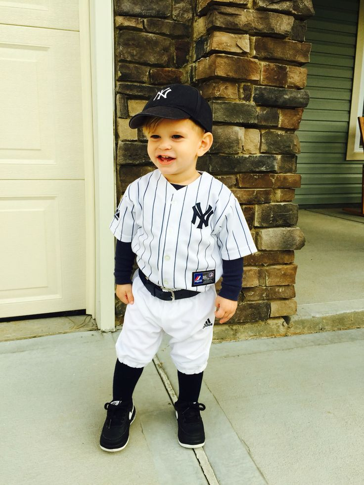 Cole David 2014: Halloween costume toddler baseball player ...