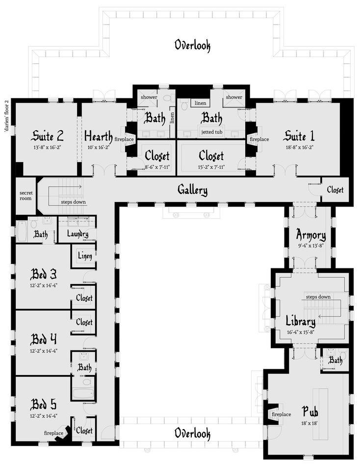 Best 25 Castle House Plans Ideas On Pinterest House