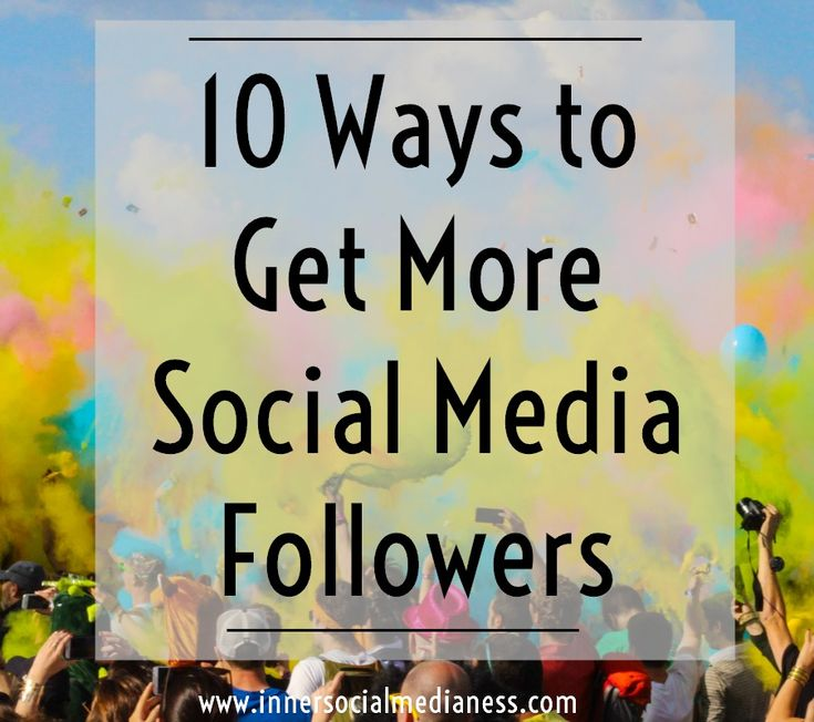 10 Ways to Get More Social Media Followers - it's not the number of fans that counts but the number of qualified people you've connected with in your social sites. These folks are the ones you want to spend your time growing. They're the ones who will go from a simple social connection into a paying customer. via @penneyfox