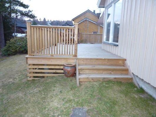 tips til utforming av rekverket på en veranda - veranda2.jpg - Tanngarden