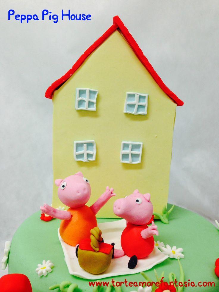 Beatrice una bambina appassionata della maialina che sta spaziando sulle nostre Tv! Una versione diversa da quelle precedenti...La vera casa di peppa Pig curata nei dettagli, la famiglia Pig con Mamma e Peppa sul giardino per un fantastico pic-nic e Papa' e George che arrivano sulla macchina rosso fiammante ! Tanti biscotti decorati per i piccoli amici! #peppapig #Peppapighouse #georgepig #mammapig #peppa #tortedecorate #casteliromani #cakedesign #genzanodiroma #torte…