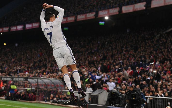 Cristiano Ronaldo, Real Madrid, goal, football, Spain, Ronaldo