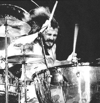 """John """"Bonzo"""" Bonham of Led Zeppelin,  b. May 31, 1948  d. September 25, 1980"""