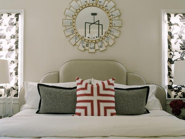 1000 Ideas About Mirror Over Bed On Pinterest Grey