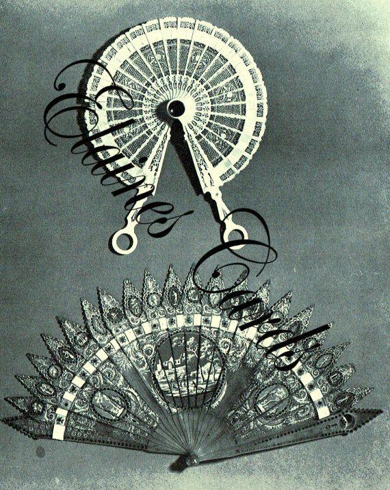 PDF Vintage 1960s 'Fans in Fashion' Book by TheAtticofKitsch