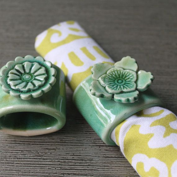 BrightNest | Upgrade Dinnertime: 7 #DIY Napkin Ring Ideas