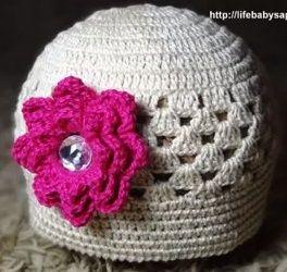 As Receitas de Crochê: Vestido de crochê para menina