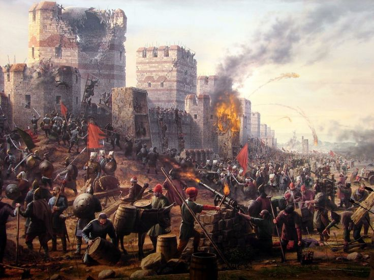 siege of constantinople medieval siege siege of