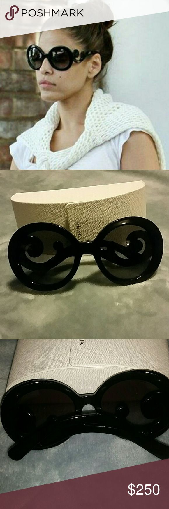 Prada Baroque Sunglasses New condition no damage Prada Accessories Sunglasses