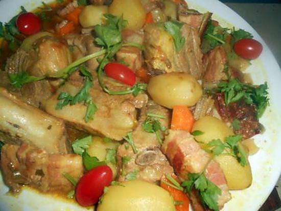 Ragout de porc a l ancienne recette - Cuisiner travers de porc ...
