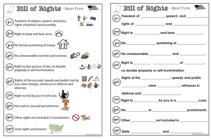 bill of rights activities history geography pinterest. Black Bedroom Furniture Sets. Home Design Ideas