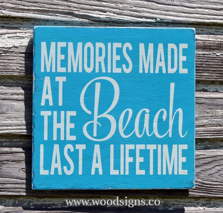 Beach Sign Decor Adorable Beach Decor Beach Sign Rustic Memories Made At The Beach Last A 2018