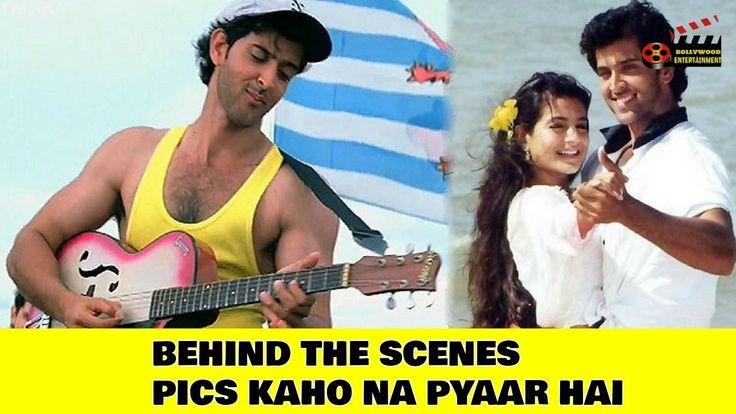 Hrithik Roshan Kaho Naa... Pyaar Hai Behind the scenes pics