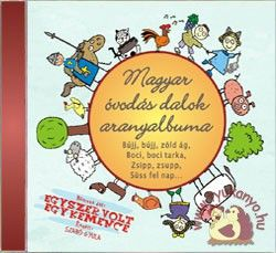 Zeneker - Magyar óvodás dalok aranyalbuma - cd