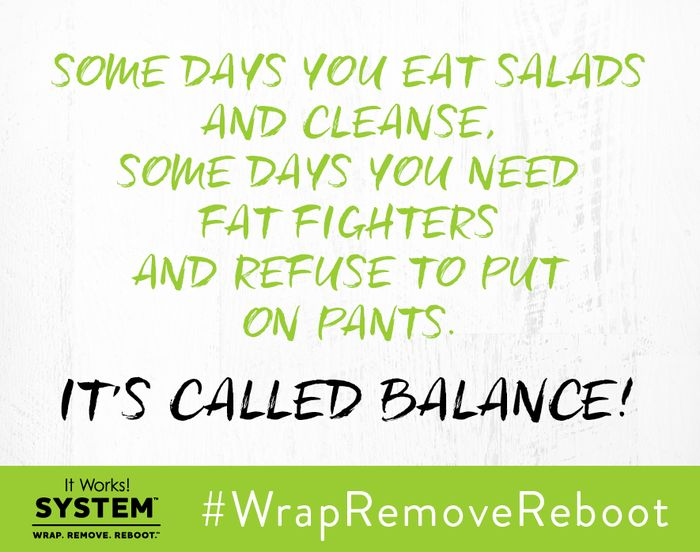 It's okay to mess up, but don't get hung up! Make sure you get BACK up and keep fighting for your health AND for your business! #WrapRemoveReboot