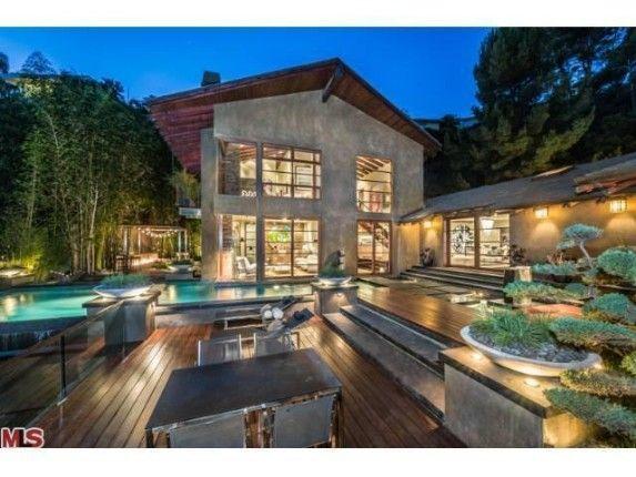 La villa du dj producteur calvin harris à hollywood achétée pour 7 millions