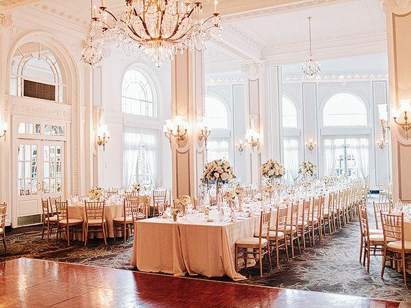gorgeous ballroom wedding at Georgia Terrace | Amy Arrington