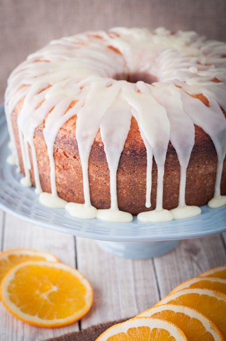 This orange pound cake is moist on the inside with freshly squeezed orange juice. Perfect at home or as a gift when visiting friends and family. So good.