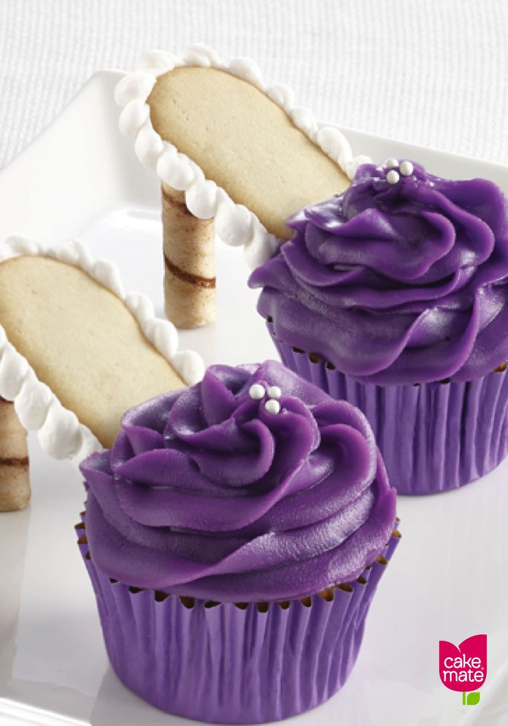 Perfect for girls' night in, these High Heel Cupcakes are a delicious, colorful, and fun dessert to serve to your best friends. Cake Mate products make these unique treats easy to make!