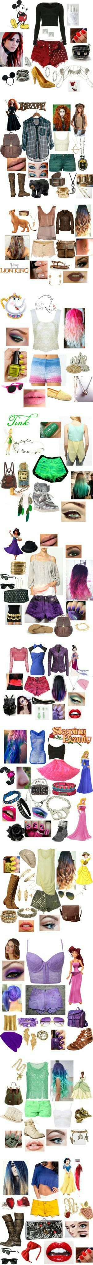 ensemble de disney