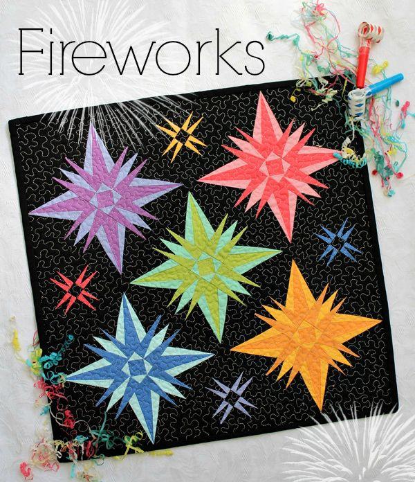 Threadbare Creations- Fireworks PDF Pattern