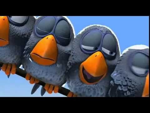 For the birds- Pixar animation. Often how I feel as the foreigner in an Asian country :)