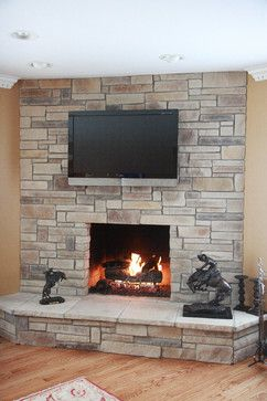 Stacked Stone Fireplace Ideas 103 best stone fireplaces images on pinterest | stone fireplaces