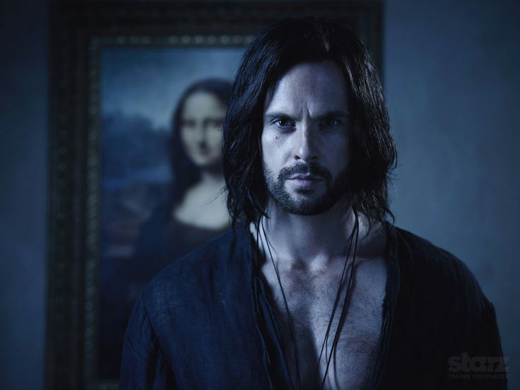 #TomRiley as #LeonardoDaVinci - #STARZ #DaVincisDemons #Season2 #Wallpaper