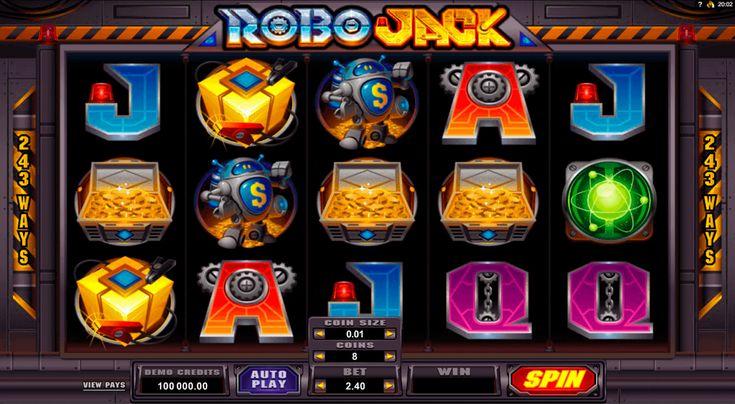 Uskomatomat Robojack seikkailut odottavat sinua samannimisella #Microgaming kolikkkopelillä. Slotissa on 243 voittolinjoja ja kirkaat mielenkiintoiset symbolit. Kokeile pelata ja saat paljon nautiota tai voittoa!
