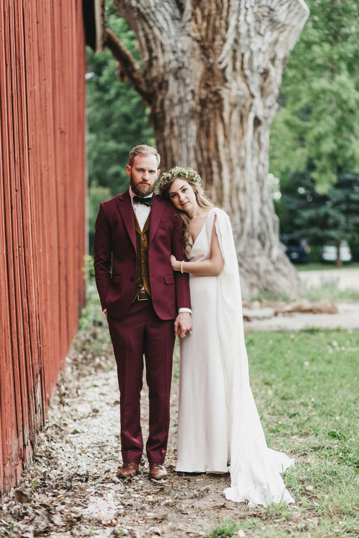 This couple's wedding was so nerdy chic | Image by Jason Lucas Photography