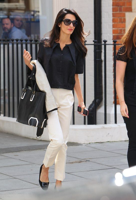 7 Impeccable Fashion Tips You Can Learn From Amal Clooney SELF 87