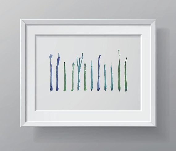 Una bellissima acqua verde astratto, verde e blu di stampa di un acquerello originale che ho fatto. È una rappresentazione astratta dei dodici nervi cranici del cervello. Le linee blue rappresentano i nervi sensoriali, il verde sono motore e lalzavola è sensoriali e motori.  Nome: nervi cranici in blu e verde  CARTA e inchiostro: la stampa si accende 100% cotone straccio 300gsm Archival Matte Paper. Questa bella carta di qualità museale è privo di acidi e progettato per alto contrasto ed…
