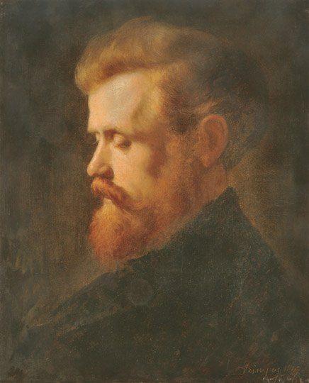 Szinyei Merse Pál (1845-1920) - Vörös hajú férfi