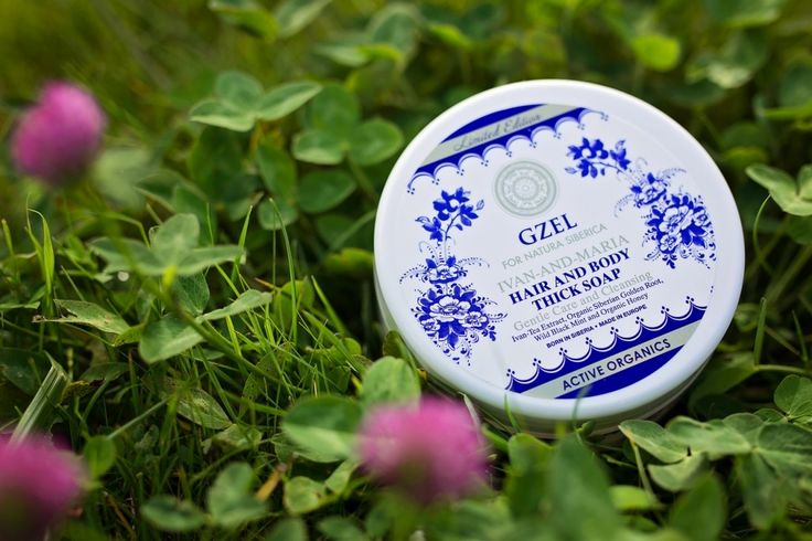 Natura Siberica GŽEL Hair and body thick soap with wild black mint extract Gentle Care and Cleansing