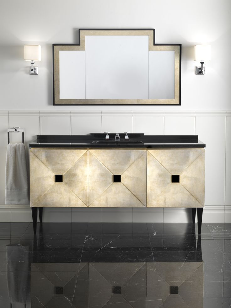 jetset a stylish complement for the most elegant bathrooms evokes all the fascination of art deco