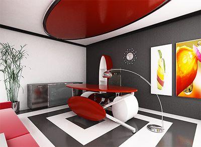 Modern Office Desk - Wacky and Fun!