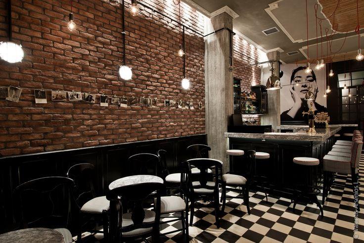 cafe bar BRIKI in Veroia Greece by architect DIMITRIS KOUKOUDIS