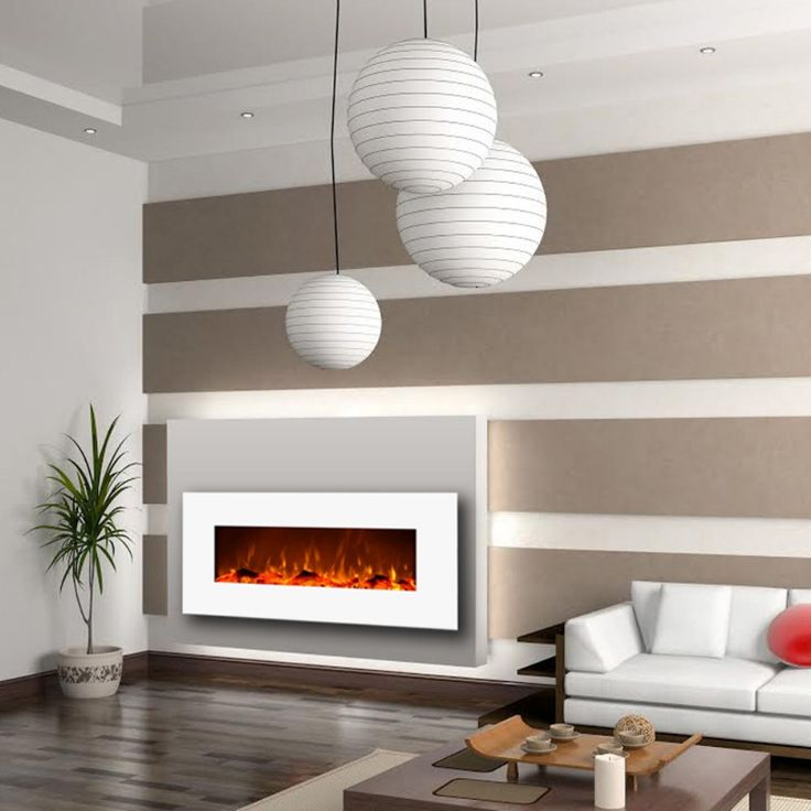 Fireplace Design wall fireplaces : Best 25+ Wall mounted fireplace ideas only on Pinterest ...