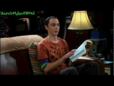 Big Bang Theory showing love for Finland! Sheldon learning the language.
