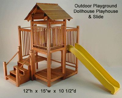 Another outdoor playset that would work for a small yard