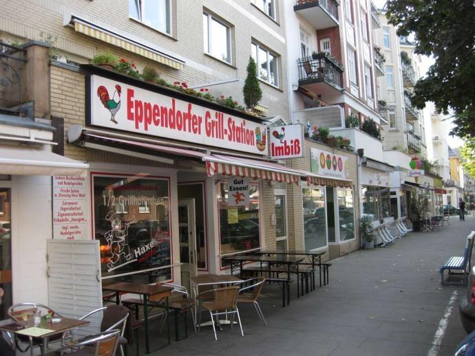 Bilder: Eppendorfer Grillstation - Drehort der Serie Dittsche