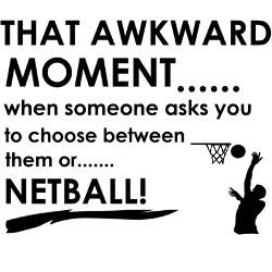 Awkward. #netball #sports #quote