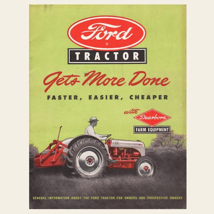 1948 Ford Dearborn Tractor Sales Brochure | OldBrochures.com