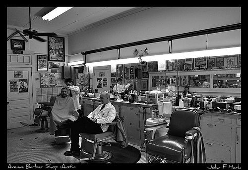 Avenue Barber Shop - Austin Texas | Flickr - Photo Sharing!