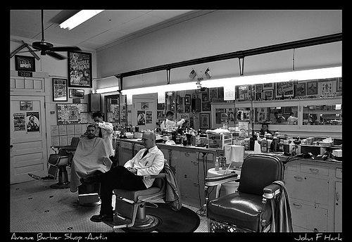 Avenue Barber Shop - Austin Texas   Flickr - Photo Sharing!