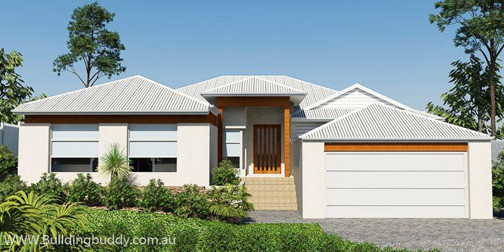 Bolero, Sloping Lot House Plan