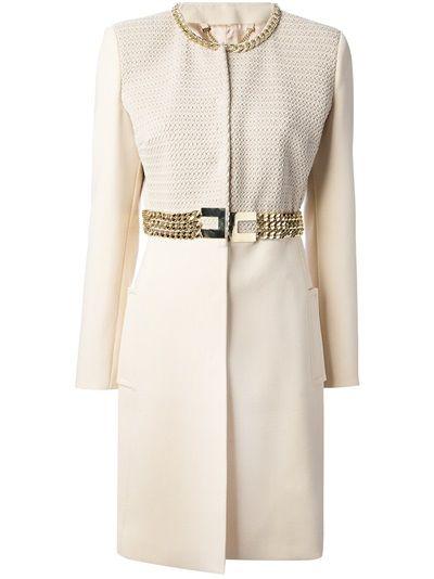 ELISABETTA FRANCHI - belted trench coat