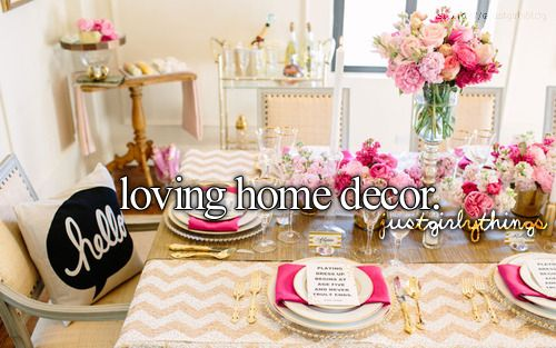 """This is prob the worst """"blacker"""" side to me! I have toooo many crafts stuff .. I Lovee home decor!"""